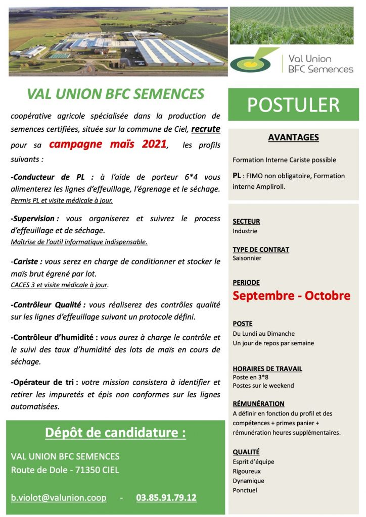 Job Val Union Sermesse